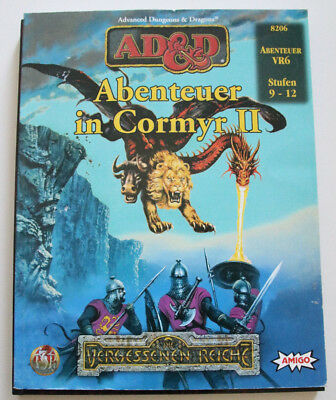 "Advanced Dungeons and Dragons - Abenteuer ""Abenteuer in Cormyr II"""