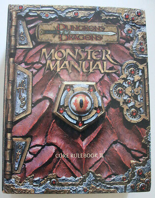 "Dungeons and Dragons 3rd - ""Monster Manual"""
