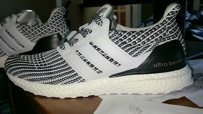 sports shoes aee77 7728d ADIDAS ULTRA BOOST 4.0 Black White