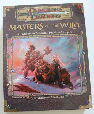 "Dungeons and Dragons 3rd  Zubehör- ""Masters of the Wild"""