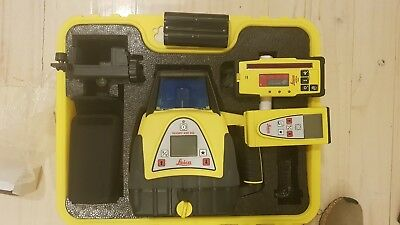 Leica Rugby 420 DG Dual Grade Self Levelling Rotating Laser Level