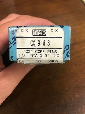 "DME ""CX"" Core Pins CX 9 M3"