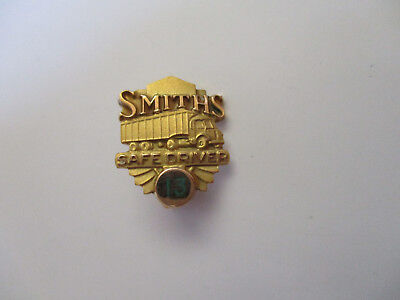 Smith's 13yr 10k gold Truck Driver Employee Safety Award Pin