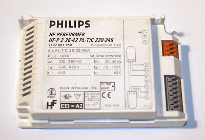 Philips Hf-Performer Hf-P 226-42 for Pl-T / C 26/32/42w New Incl. Tax