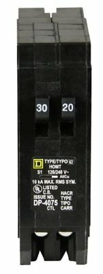 Square D by Schneider Electric HOMT3020 Homeline 1-30-Amp 1-20-Amp Single-Pole