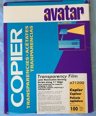 Avatar Transparency Films With Removable Sensing Stripe (63/100 in the pack)