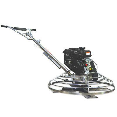 """46"""" Gas Concrete Wet PowerTrowel Cement Powered by Kohler 9.5HP Engine"""