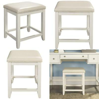 Surprising Crosley Furniture Vista Vanity Stool In White Finish Alphanode Cool Chair Designs And Ideas Alphanodeonline