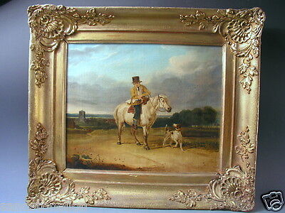 Antique 19Th Century British English Norwich School Oil Painting Hancock-Cooper'