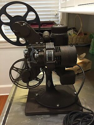 Vintage 1941 Bell and Howell Film-Master 16MM Film Projector Runs Great