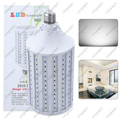 Super bright huge 300W 216 chip corn light E26 Eq LED bulb 5000lm 50W cool 6000K