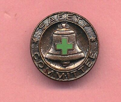 Bell System Green Cross Safety Committee Lapel Pin