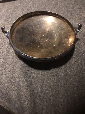 Pairpoint sheffield 05505 8.5 x 10 silver plated serving tray Vintage Patina!