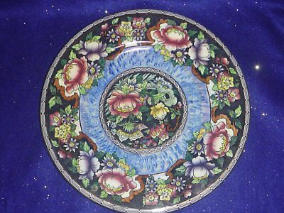 Maling Peony Rose Charger Plate – 1930's