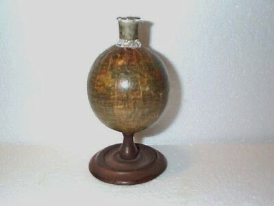 WoW 1892 WORLDS FAIR Chicago Columbia Expo Tappan PERFUME Bottle GLOBE Souvenir