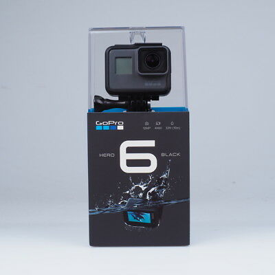GoPro HERO6 Black 4K Ultra HD Kamera