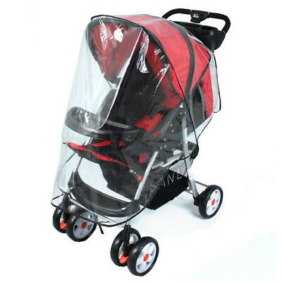 Baby Stroller Rain Cover Wind Cover Breathable Universal for Single Stroller jog