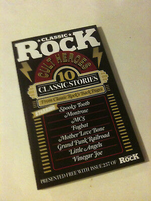 'CULT HEROES' 2017 UK 'Classic Rock' Magazine Small Book - 10 Stories