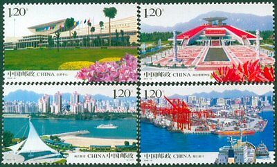 China 2008-14 West Side of the Taiwan Straits stamps
