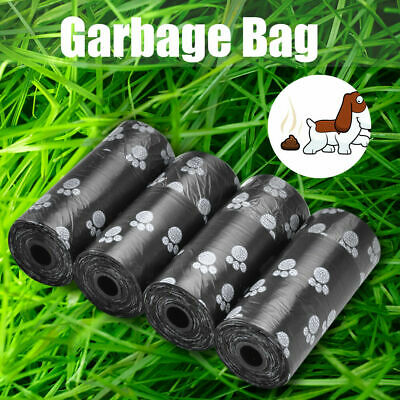 10Roll 150pcs Pet Waste Poop Bags Dog Cat Clean Up Cleaning Garbage Bag Set