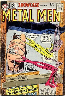 Showcase #39 1962 Vg- 3Rd Appearance Of The Metal Men