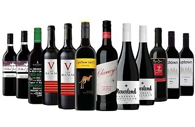 AU Favourite Red Mix with Yellow Tail Shiraz & Peter Lehman Red RRP$219 FreeShip