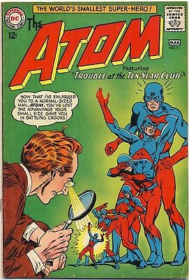 """THE ATOM #11 1964 FN """"Trouble At The Ten-Year Club"""" GIL KANE / Murphy Anderson"""