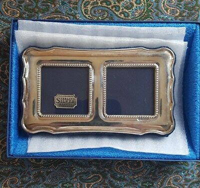 Sterling Silver Photo Frame Art Deco. Lovely Condition