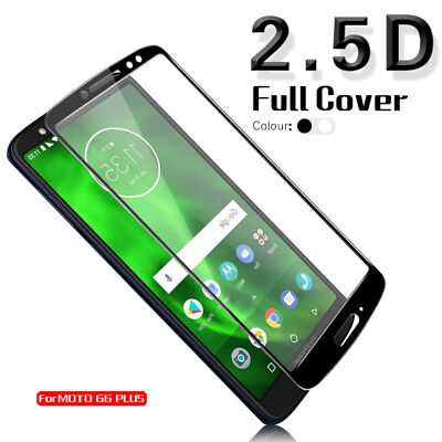 Full Cover Tempered Glass Screen Protector Film For Motorola G6 G6 Plus G6 Play