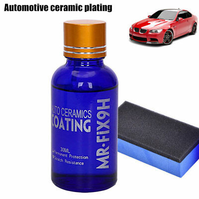 30ML High Gloss Ceramic Car Coating Kit Anti-Scratch Exterior Care Paint Sealant