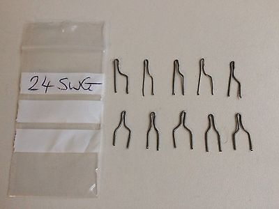 10pcs hot wire pyrography pen replacement tips fit most machines 24swg TWC01304