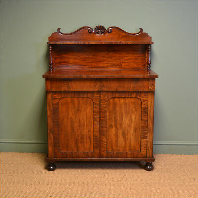Country House Victorian Mahogany Antique Chiffonier