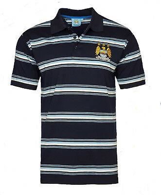 BOYS 10 11 Years MANCHESTER CITY Core Polo Shirt Kids Football Top T MAN MCP6