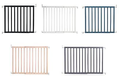 Safetots Deluxe Chunky Wooden Screw Fit Infant Stair Gate Baby Safety Gate