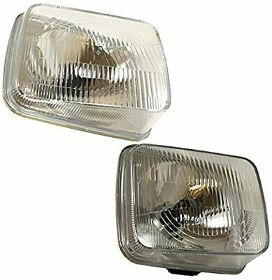 Land Rover Discovery 1 200Tdi 1989>94 Rhd Front Headlights Lamps (2)-Stc765/6