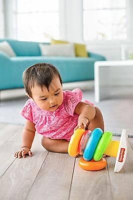 Fisher Price Rock A Stack Stacking Rings Playset (Ages 6+ Months)