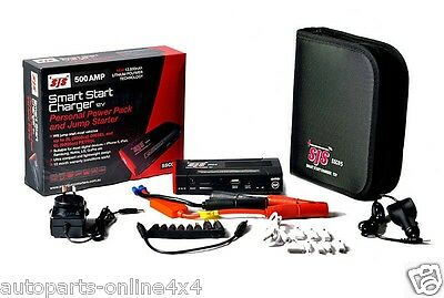 Car Jump Starter + Portable Power Pack (500 Amp) Auto & Mobile Devices-Ssc05