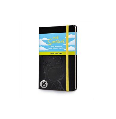 Moleskine The Simpsons Limited Edition Pocket Plain Notebook Black