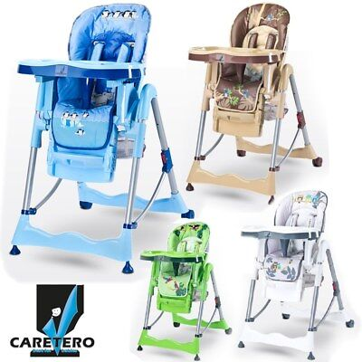 Caretero MAGNUS High Chair baby Highchair Infant Child Feeding Next Day Delivery