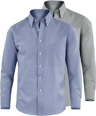 Camicia Uomo Casual Manica Lunga Button Down Cotone Classica GIROGAMA G64IT