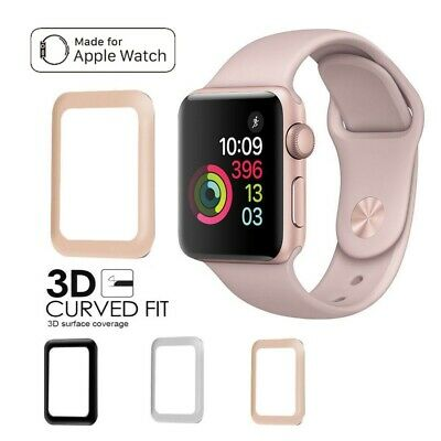 Apple Watch Series 1/2/3/4 Tempered Glass Screen Protector 3D Full 38 42 40 44mm