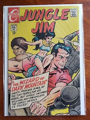 Jungle Jim #22 (Silver Age Blow Out Sale) Charlton [Fn+]
