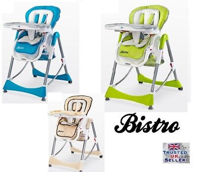 Caretero Bistro High Chair baby Highchair Infant Child Feeding Next Day Delivery