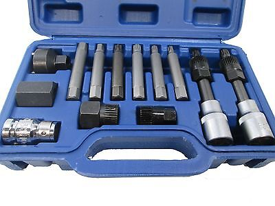 US PRO 13pc Alternator Tool Set Freewheel Pulley Removal Service Tool Kit 5559