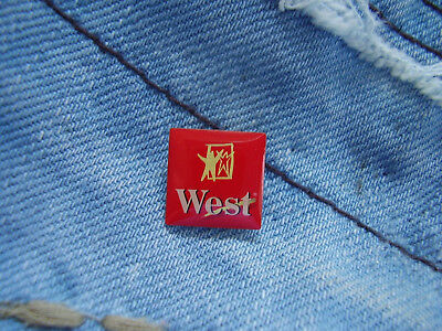 Pin West Logo Zigaretten Cigarettes Reemtsma Imperial Tobacco Group