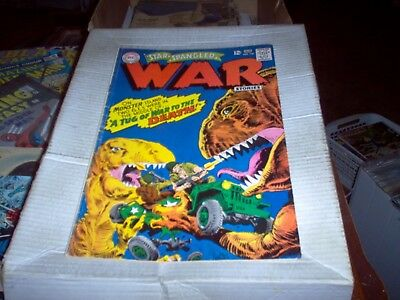 Star Spangled War Stories # 136 1967 Dinosaur Issue Dc 1967 Look Fn-