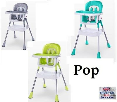 Caretero POP High Chair baby Highchair Infant Child Feeding Next Day Delivery