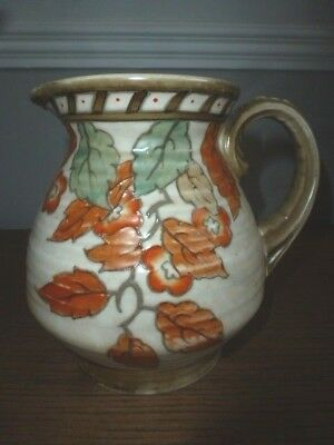 Hand Decorated By Charlotte Rhead For Crown Ducal - Jug - No 4921