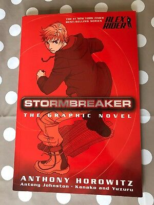Stormbreaker The Graphic Novel, Anthony Horowitz | Yuzuru | Paperback 0399246339