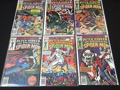Spider-Man Comic Lot 7 - 15 Peter Parker Spectacular - Amazing! Morbius!
